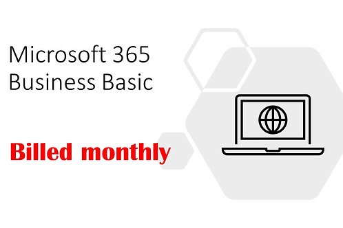 1 Month Subscription of Microsoft 365 Business Basic