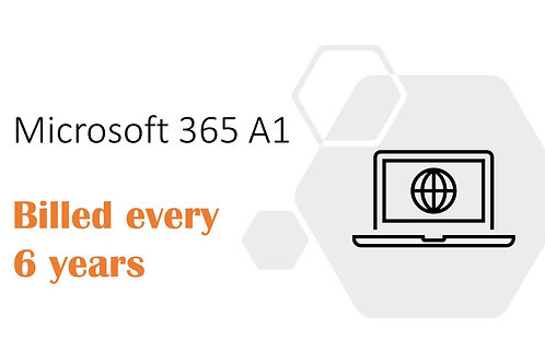 6-Year Subscription of Microsoft 365 A1