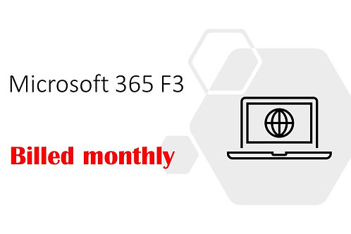 1 Month Subscription of Microsoft 365 F3