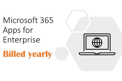 1 Year Subscription of Microsoft 365 Apps for Enterprise