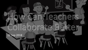 How Can Teachers Collaborate Better