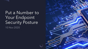 Put a Number to Your Endpoint Security Posture