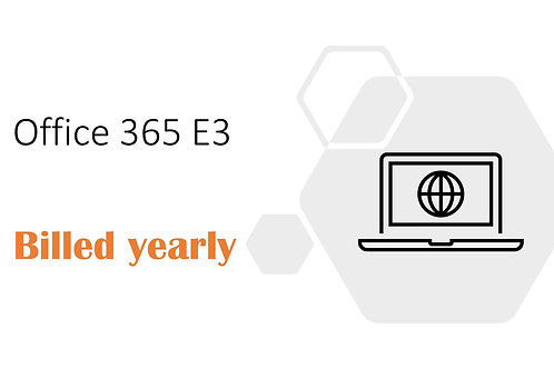 1 Year Subscription of Office 365 E3