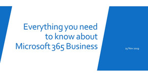 Everything You Need To Know About Microsoft 365 Business