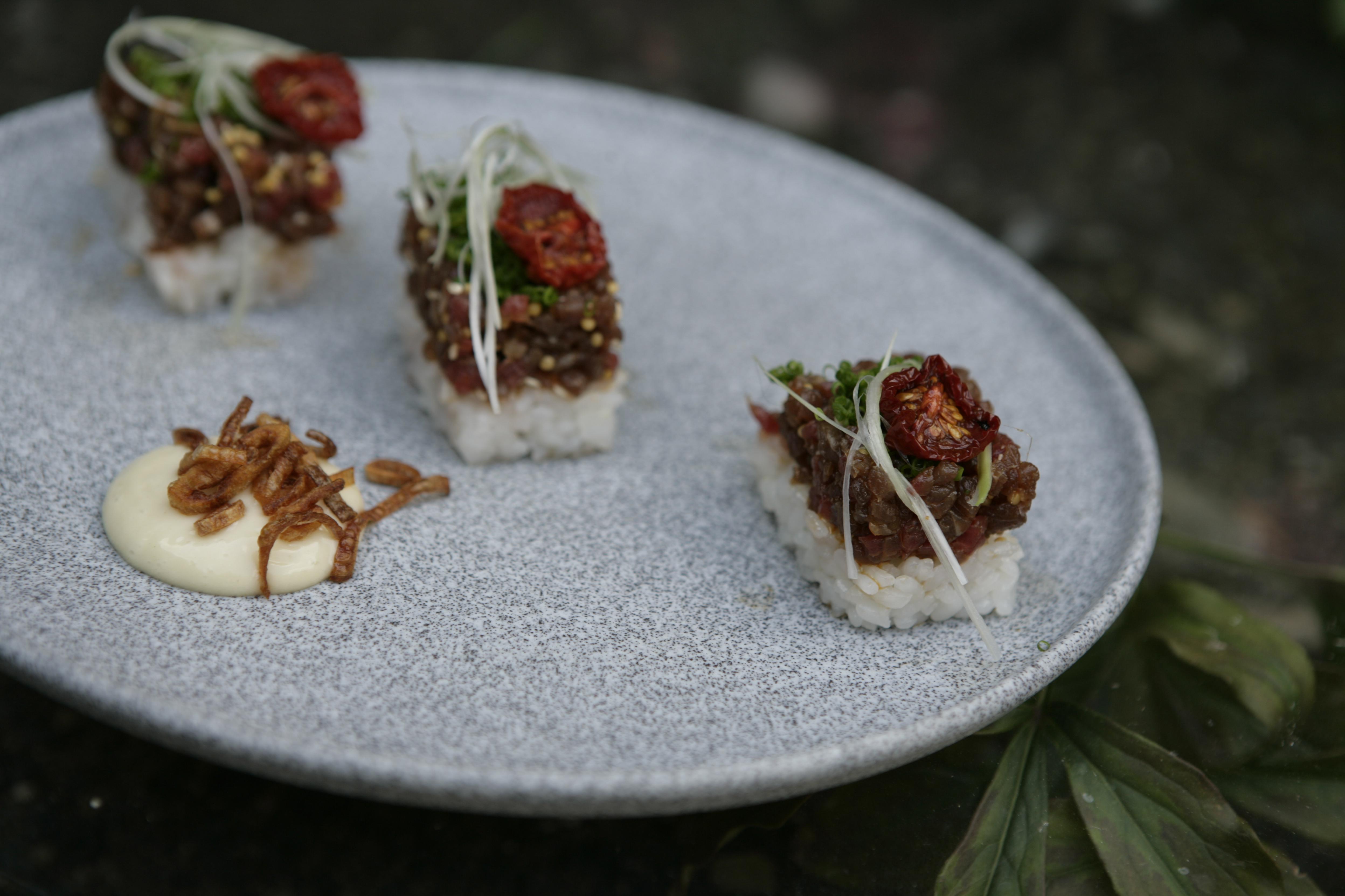 Sushi tatarák
