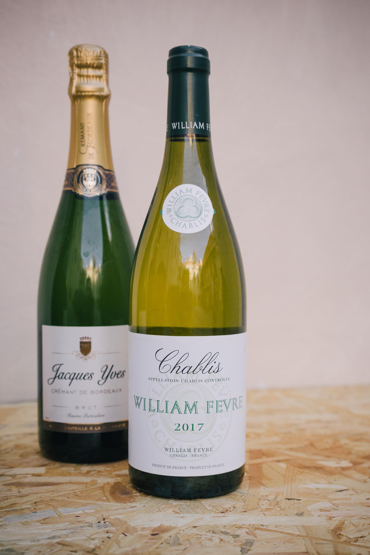 Výběr francouzských vín