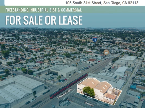 NEW ON MARKET! Single Tenant Industrial for Sale or Lease