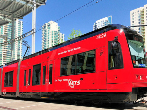 San Diego's Mid-Coast Trolley Extension Nears Completion