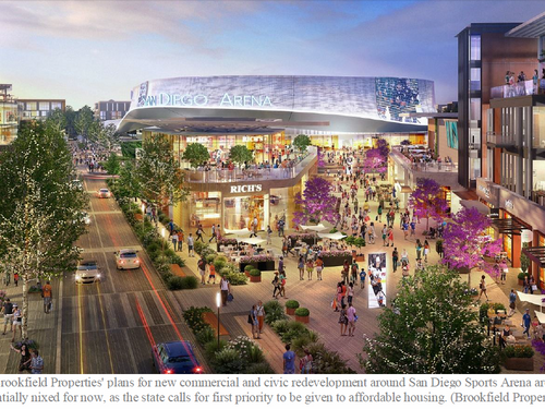 California Agency Ruling Halts Planned $1 Billion Redevelopment of San Diego Sports Arena