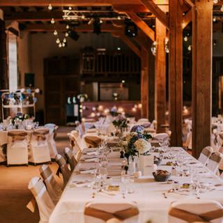 Une table de cérémonie