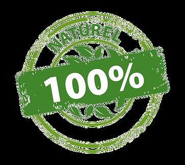 Logo produit 100% naturel savons naturel