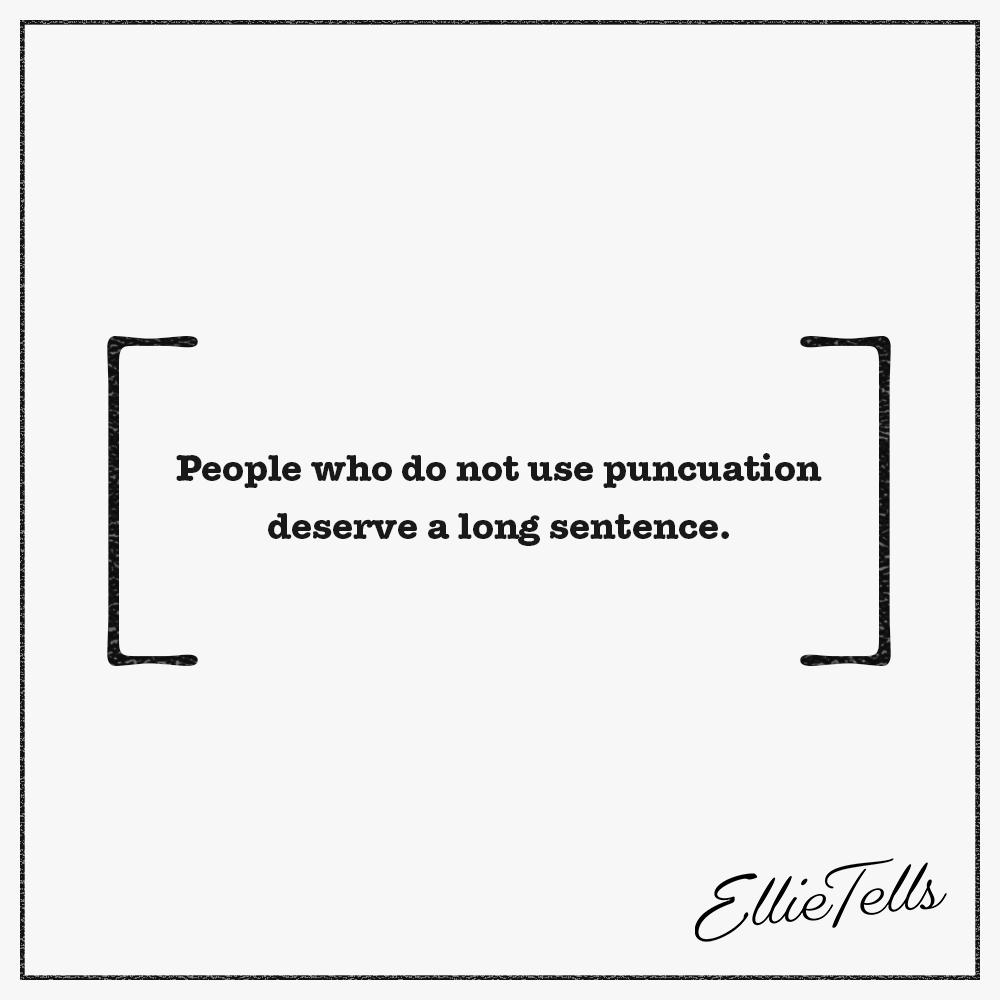 Punctuation Pun