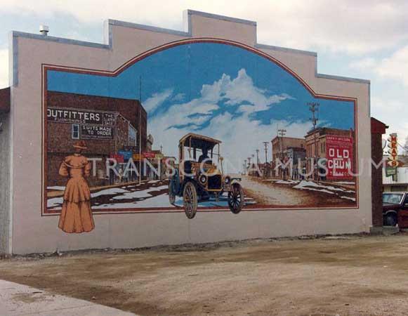 """Old Regent Avenue"" Mural - 130 Regent Avenue East"