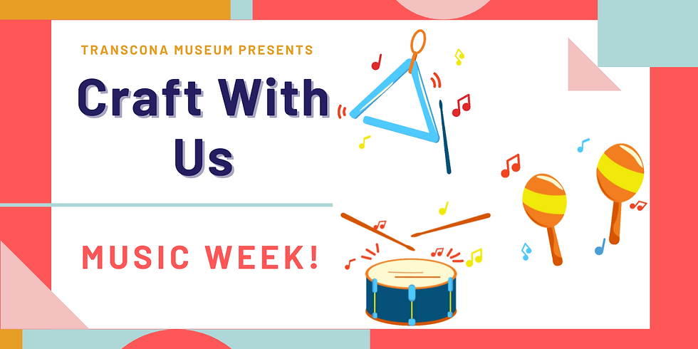 Craft With Us: Music Week