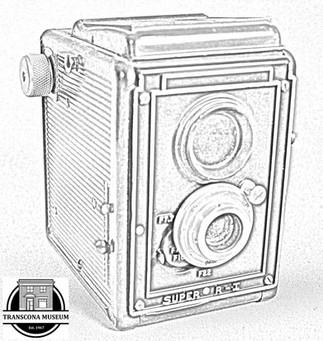 Colouring Page - Camera