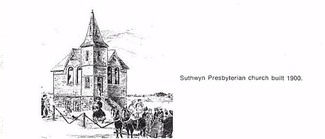 Suthwyn Presbyterian Church, ca. 1900