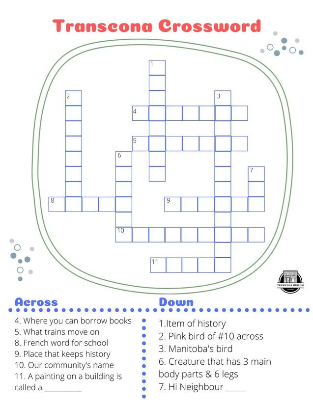 Crossword - Kids