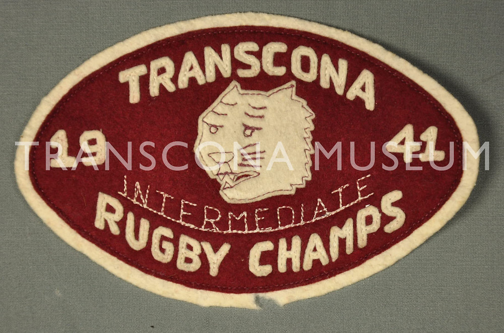 TM Collections, TH95.123.3 Rugby Champs Patch