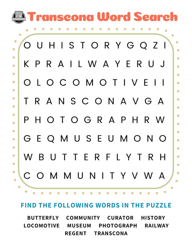 Word Search - Kids