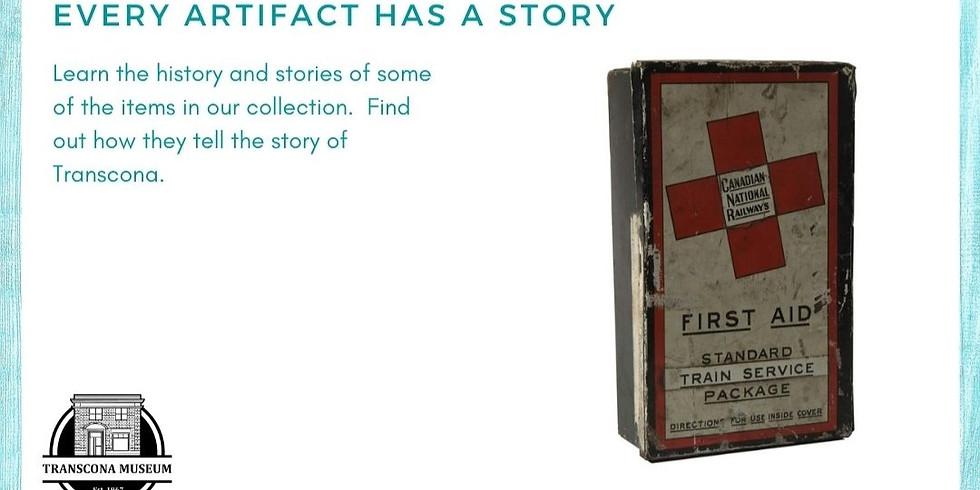 Virtual Small Talk: Every Artifact has a Story