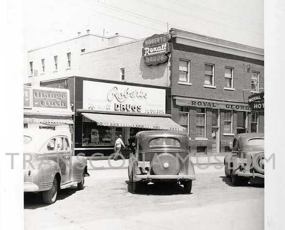 Robert's Drug Store - 127 Regent Avenue West
