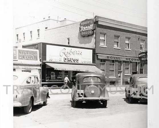 Robert's Drug Store - 127 Regent Avenue West