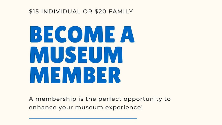 Purchase Museum Membership