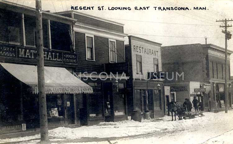 Early Businesses in Transcona