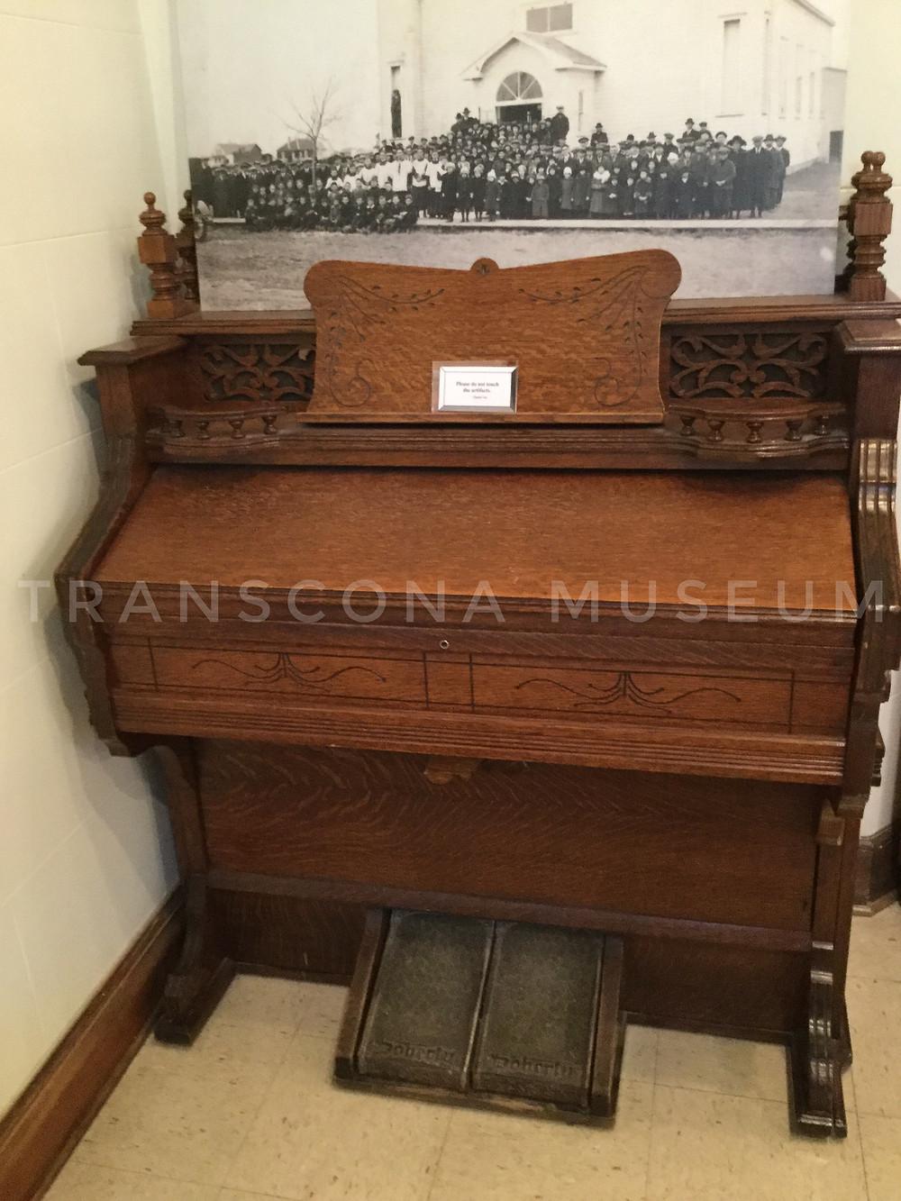 Organ at Transcona Museum