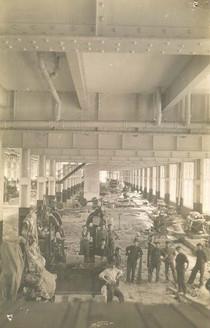 Construction of Transcona Shops