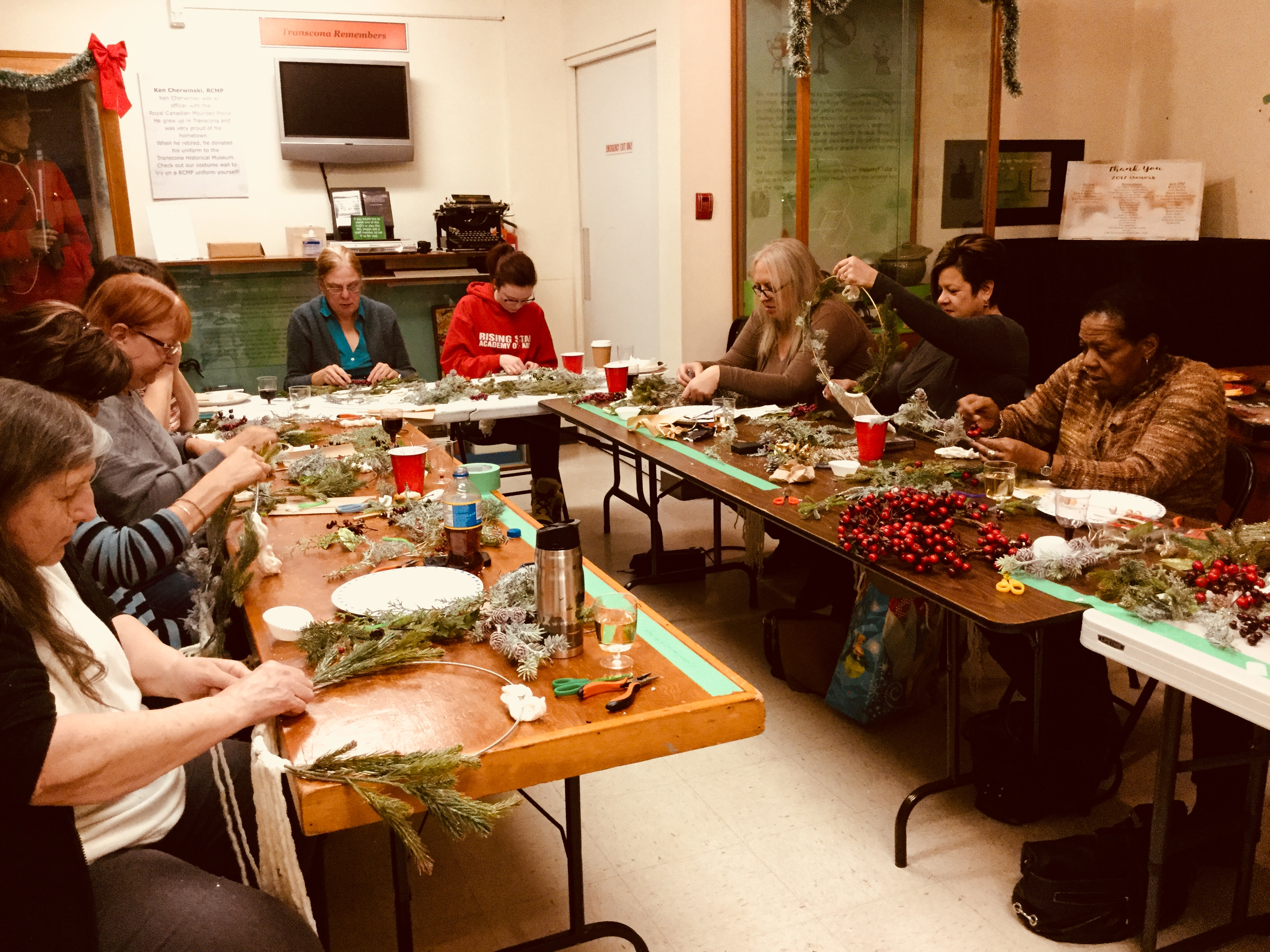 Wreath Workshop 2017