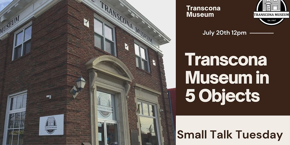 Virtual Small Talk: Transcona Museum in 5 Objects