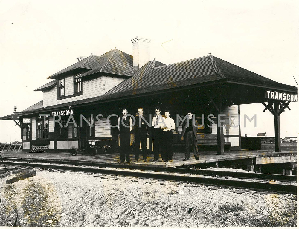 TM Archives, TH2001.47.1 - Transcona Station