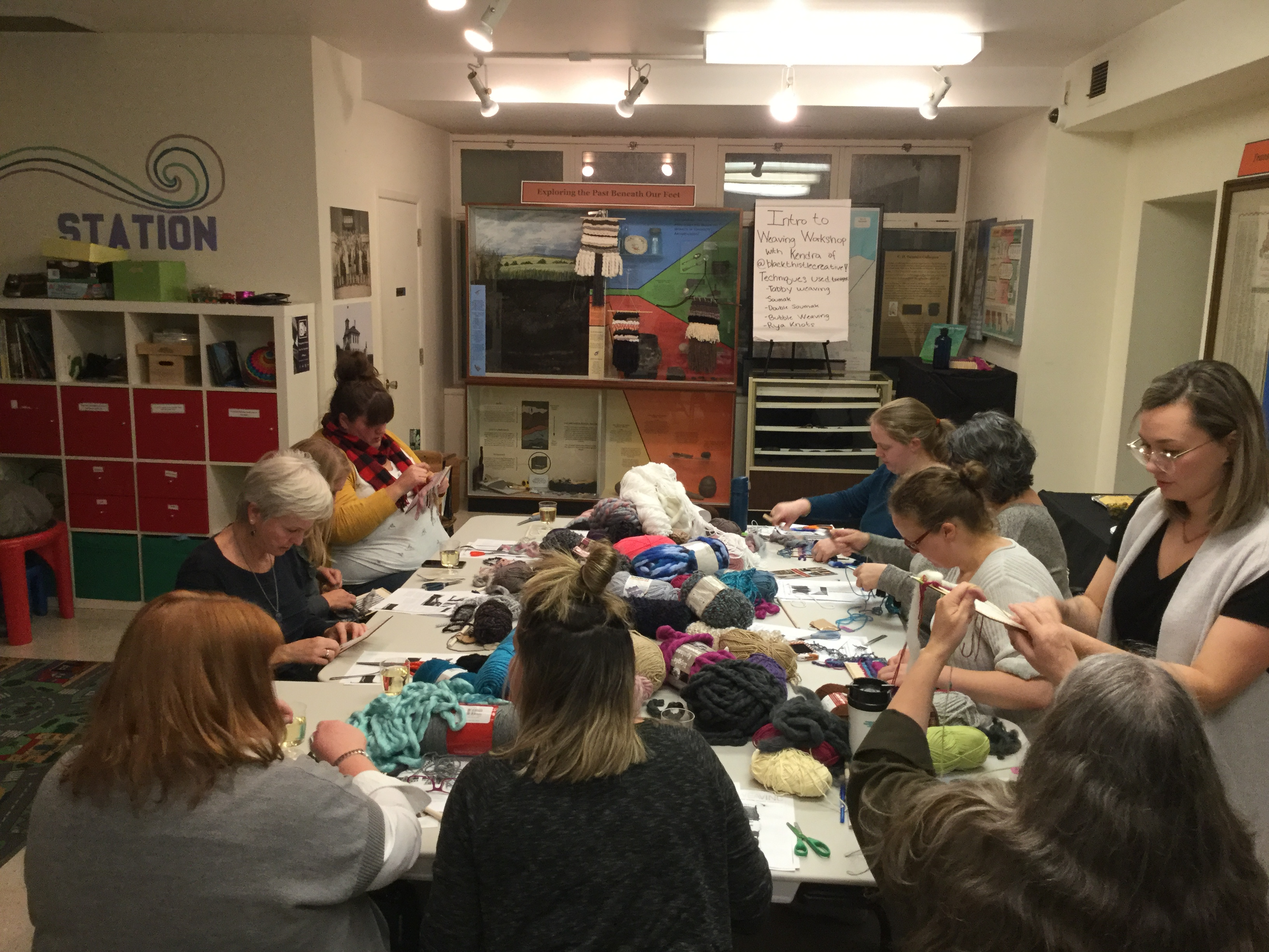 Weaving Workshop 2018