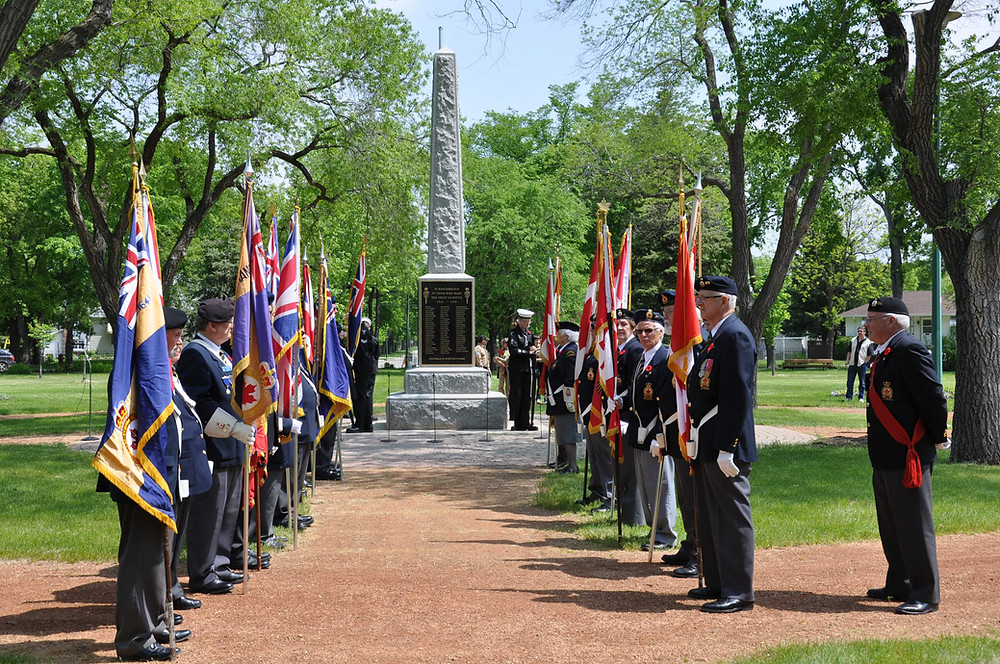 Rededication of the Transcona Cenotaph, 2011
