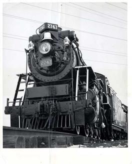 Locomotive CN 2747