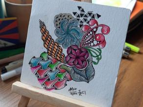 ZENtangle. A meditative art form for mental health wellbeing
