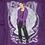 Thumbnail: indigo go-in-di glitch 432 hz zip hoodie