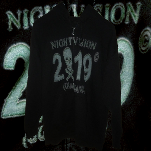 AKIFEHV X NIGHTVISION ZIP HOODIE