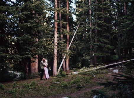 Kadey + Adam Silver Lake Couple Session   Salt Lake City Wedding Photographer