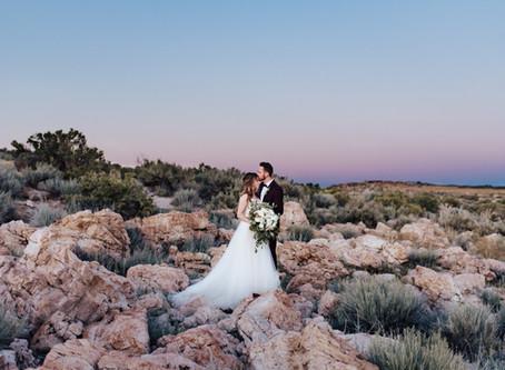 Olive + Jon Antelope Island Bridal Session   Salt Lake City Wedding Photographer
