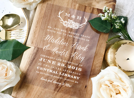 Incorporating Your Personality Into The Details - The Perfect Wedding Card from Basic Invite