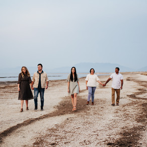 Tomaz Family | Antelope Island Extended Family Session | Salt Lake City Family Photographer