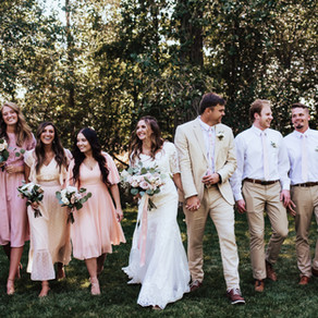 Emma + Davis Wedding Day | Farmington, Utah Wedding Photographer