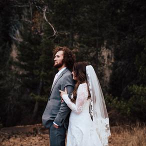 Emma + Parke Bridal Session | Tibble Fork Reservoir | Salt Lake City, Utah Wedding Photographer