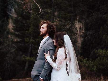 Emma + Parke Bridal Session   Tibble Fork Reservoir   Salt Lake City, Utah Wedding Photographer
