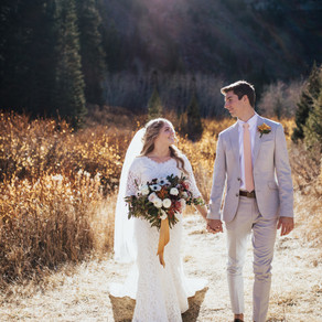 Abby + Josh | Alpine Loop Bridal Session | Salt Lake City, Utah Wedding Photographer