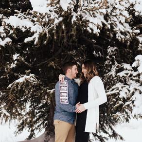Cortney + Derek Baby Announcement | Jordan Pines Campground | Salt Lake City Maternity Photographer