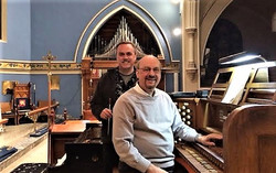 Andrew Schmidt and Brian Bogey