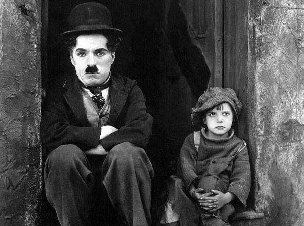 "Silent Movie - Chaplin's ""The Kid"""